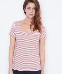 Short sleeve t-shirt coral.