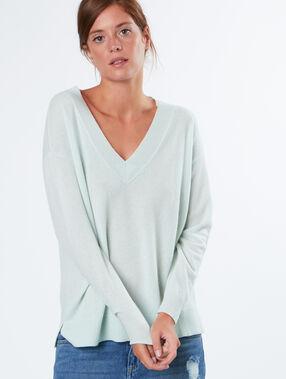 Kaschmere pullover grün.