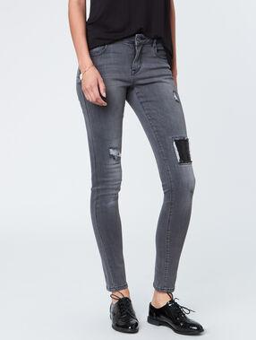 Slim jeans dark grey.