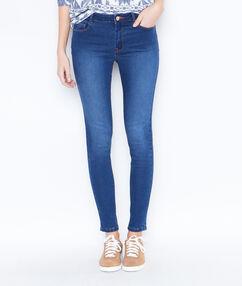 Slim push up jeans stone blue.