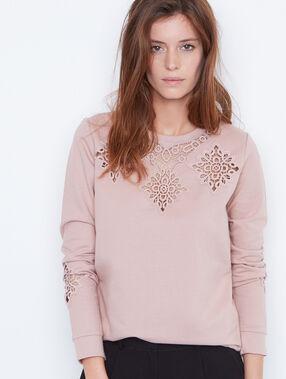 Sweatshirt rosa.