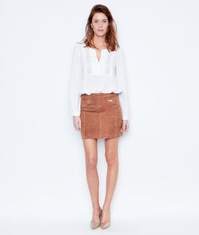 Skirt brown.