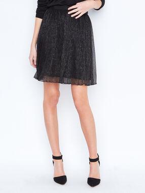 Glitter ballet skirt black.