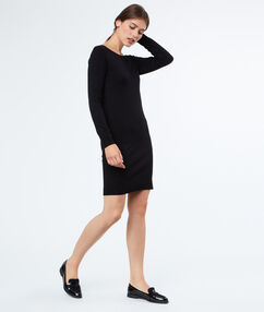 Sweater dress black.