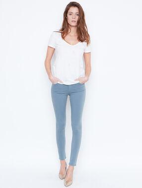Short sleeve t-shirt white.
