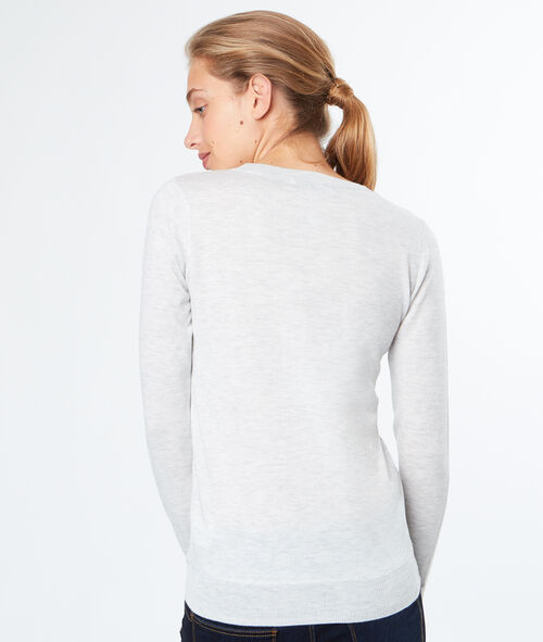 V neck jumper