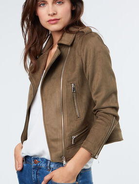Perfecto jacket khaki.