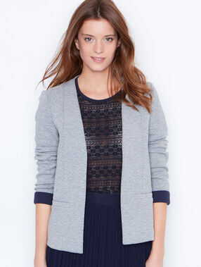 Casual blazer grey.