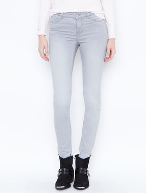 Skinny jeans light grey.