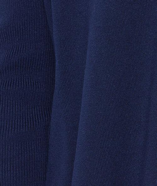 Shawl collar long cardigan