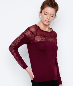 Sweater plum.