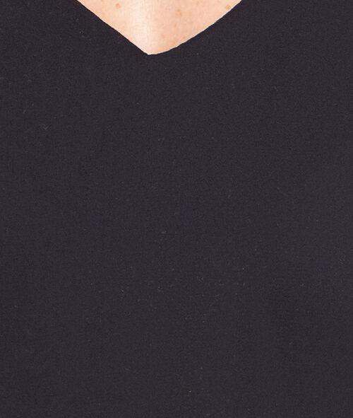 V-neck blouse