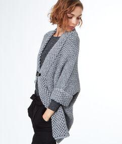 Oversize cardigan grey.