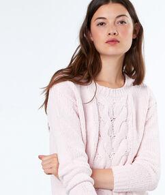 Pullover blush.