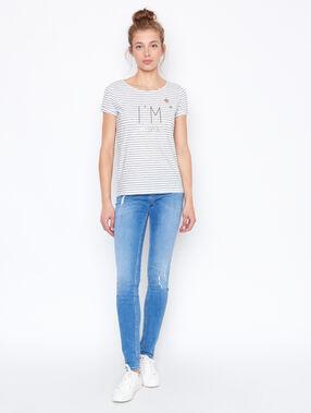 Slim jeans denim.