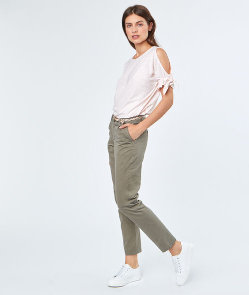Cotton Capri pants