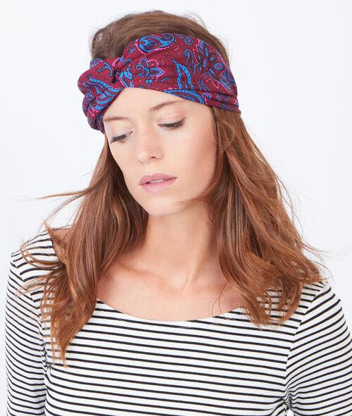 Cashmere print headband