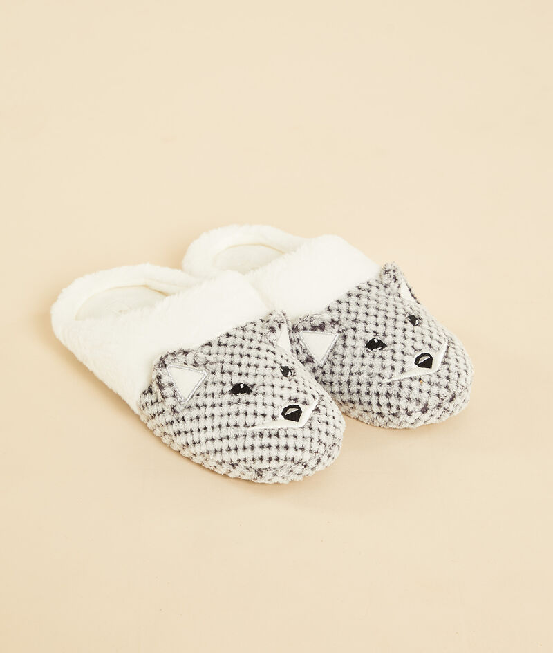 Chaussons mules animaux;${refinementColor}