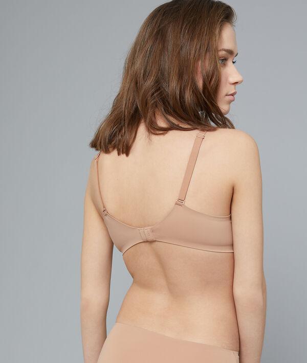 Bra n°5 - microfibre natural padded bra;${refinementColor}