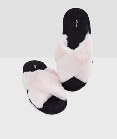 Slippers pink.