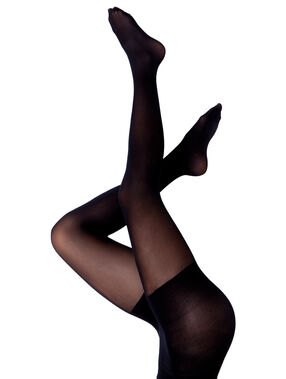 Toning comfort tights, 30d black.