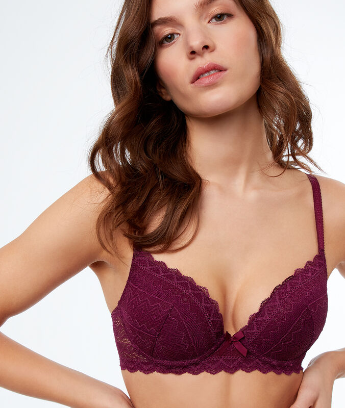 Bra no. 1 - magic up plum.