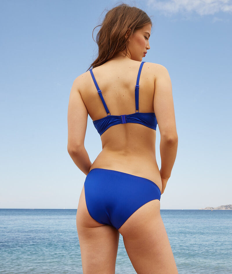 Balcony bra swimsuit;${refinementColor}