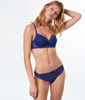 Soutien-gorge n°1 - magic up bleu royal.
