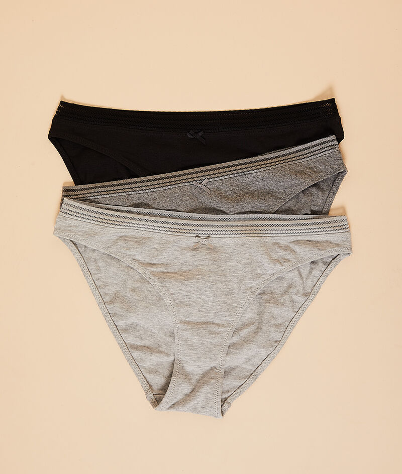 3 pack knickers;${refinementColor}