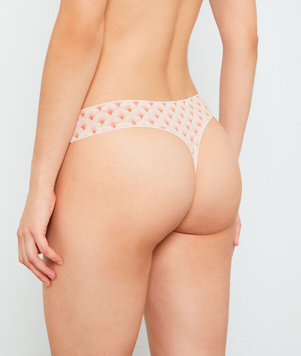 Pack of 7 cotton thongs