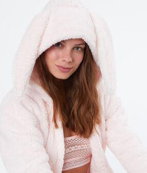 Rabbit pyjama vest pink.