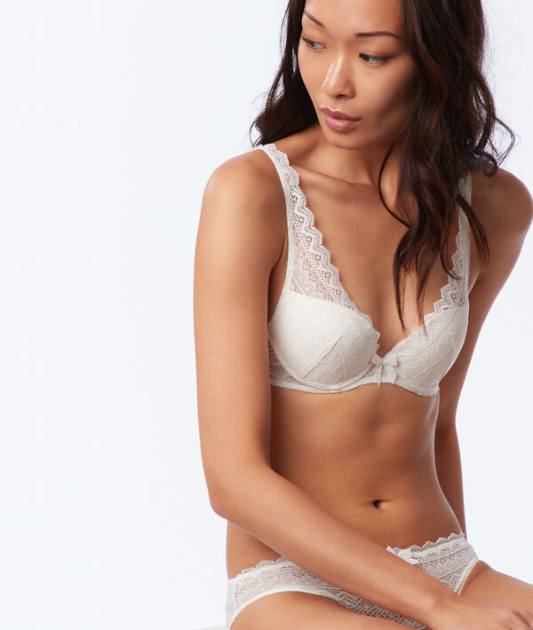 Bra No. 3 - Push-up triangle bra;${refinementColor}