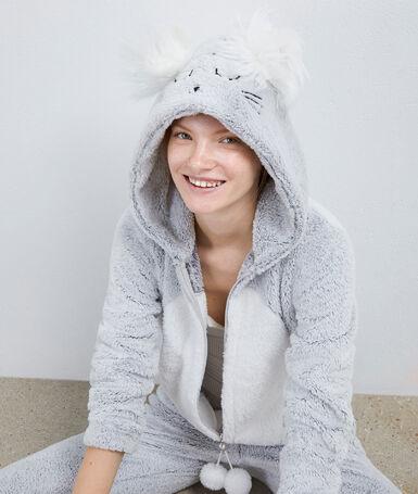 Mouse pyjama jumpsuit gray.