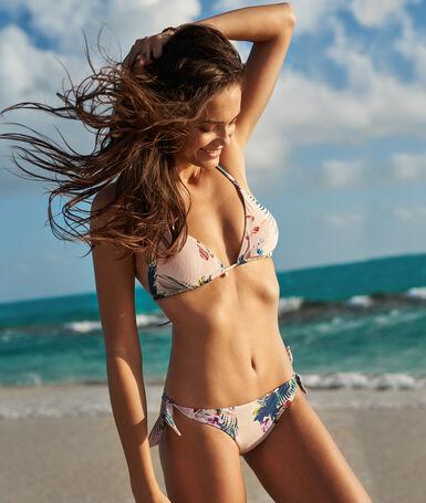 Brazilian bikini - high leg multicolor.