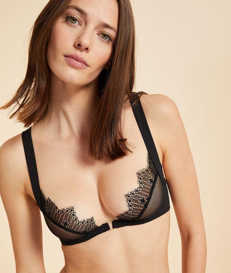 Unpadded classic bra;${refinementColor}