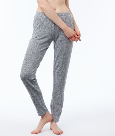 Heathered homewear pants gray.