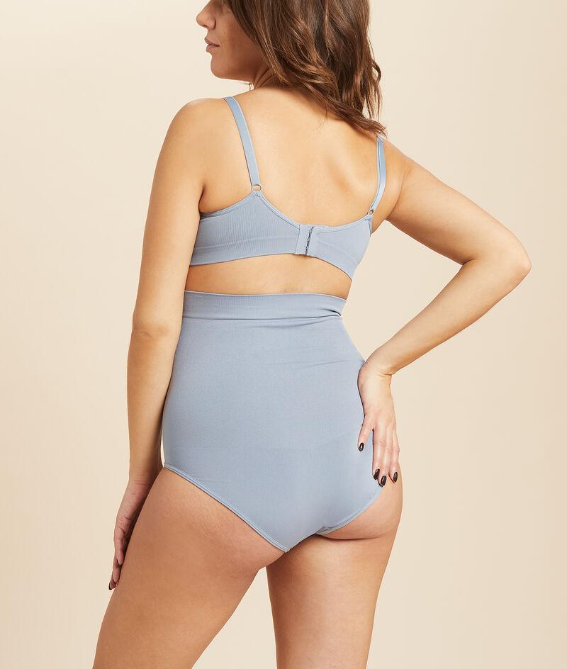 High waist seamless briefs;${refinementColor}