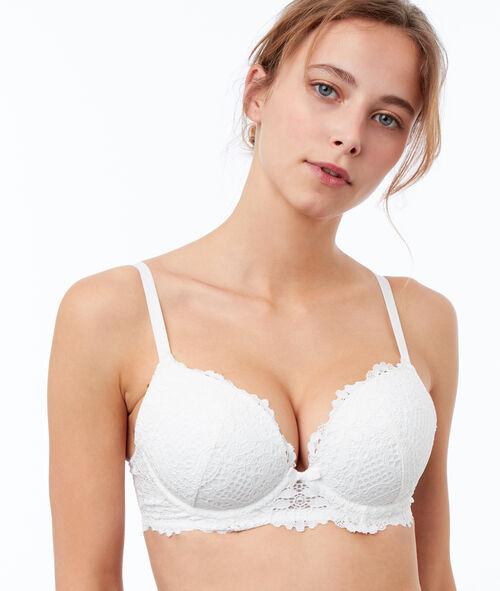 Bra No. 5 - Classic padded lace bra