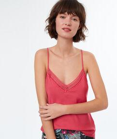 Satine top pink.