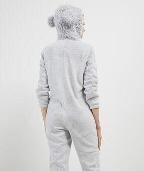 Dog onesie gray.