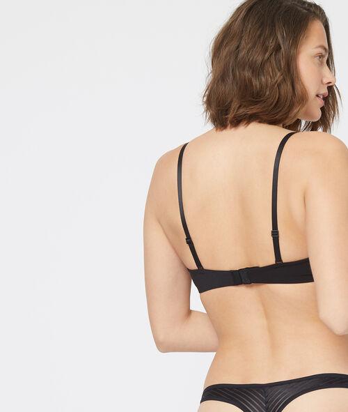 Invisible cup bra