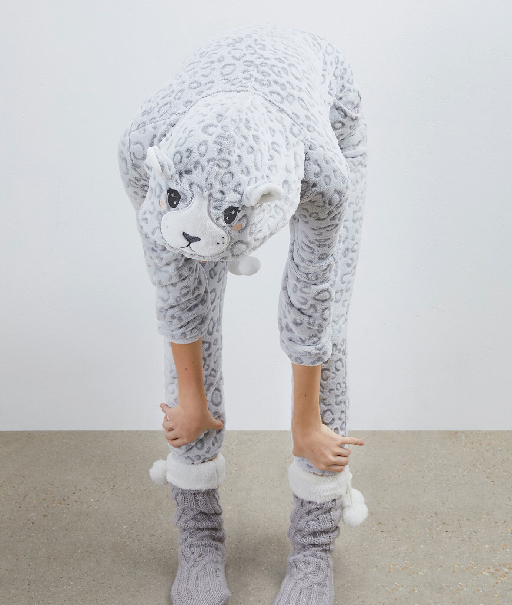 Panther Pajama Playsuit Etam