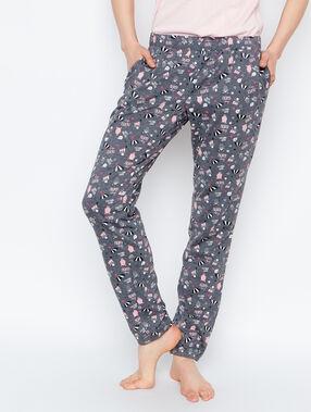 Printed trouser grey.