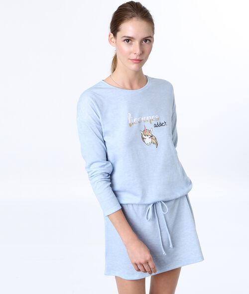 Unicorn printed nightdress
