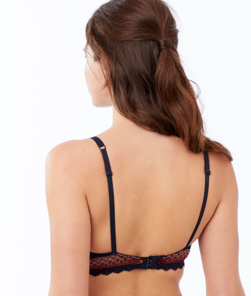 Lace bra, light padding