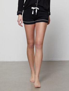 Pyjama shorts black.