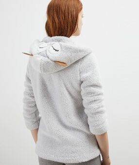 Owl homewear jacket grey.