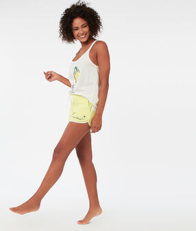 Message shorts yellow.