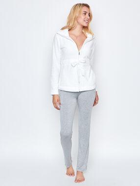 Pyjamas jacket white.