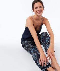 Pyjama bottoms blue.